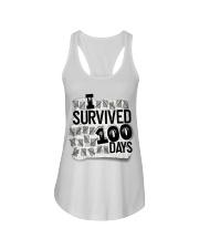 I SURVIDED 100 DAYS Ladies Flowy Tank thumbnail