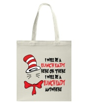BE A LUNCH LADY Tote Bag thumbnail