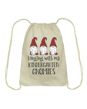 KINDERGARTEN GNOMIES Drawstring Bag tile