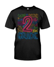 TYPO SECOND GRADE TEE Classic T-Shirt front