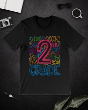 TYPO SECOND GRADE TEE Classic T-Shirt lifestyle-mens-crewneck-front-16