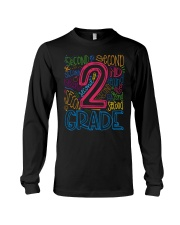 TYPO SECOND GRADE TEE Long Sleeve Tee tile