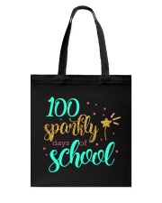 100 SPARKLY DAYS OF SCHOOL Tote Bag thumbnail
