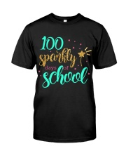 100 SPARKLY DAYS OF SCHOOL Classic T-Shirt front