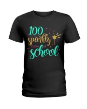 100 SPARKLY DAYS OF SCHOOL Ladies T-Shirt thumbnail