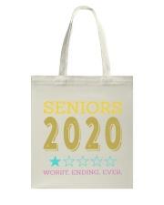 SENIORS 2020 Tote Bag thumbnail