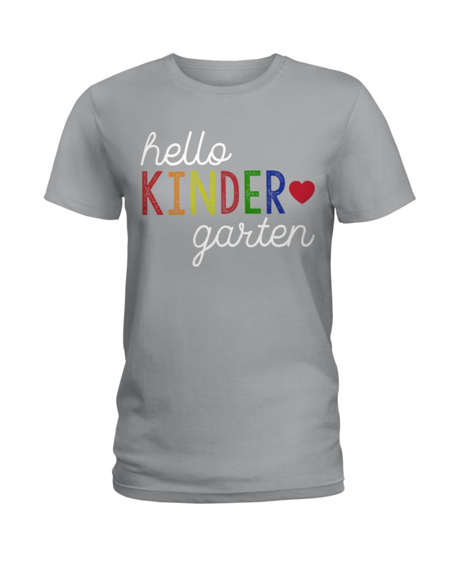 HELLO KINDERGARTEN Ladies T-Shirt