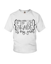 FIFTH GRADE IS MY JAM Youth T-Shirt thumbnail