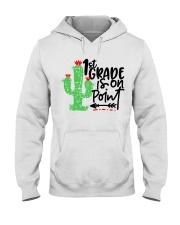 1ST GRADE IS ON POINT Hooded Sweatshirt thumbnail