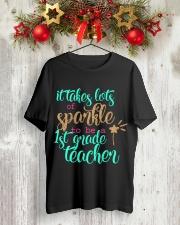 1ST GRADE TEACHER Classic T-Shirt lifestyle-holiday-crewneck-front-2