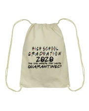 HIGH SCHOOL  Drawstring Bag thumbnail