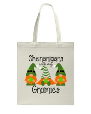 SHENANIGANS WITH MY GNOMIES Tote Bag thumbnail