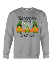 SHENANIGANS WITH MY GNOMIES Crewneck Sweatshirt thumbnail
