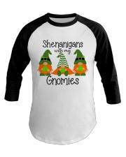 SHENANIGANS WITH MY GNOMIES Baseball Tee thumbnail