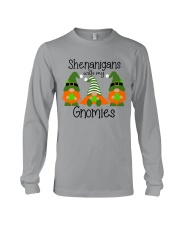 SHENANIGANS WITH MY GNOMIES Long Sleeve Tee thumbnail