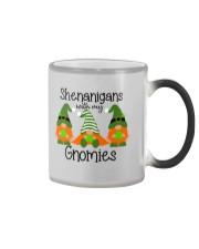 SHENANIGANS WITH MY GNOMIES Color Changing Mug thumbnail