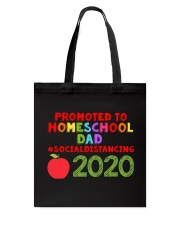 PROMOTED TO HOMESCHOOL DAD Tote Bag thumbnail