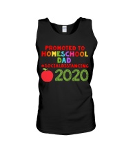 PROMOTED TO HOMESCHOOL DAD Unisex Tank thumbnail
