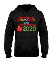 PROMOTED TO HOMESCHOOL DAD Hooded Sweatshirt thumbnail
