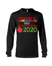 PROMOTED TO HOMESCHOOL DAD Long Sleeve Tee thumbnail
