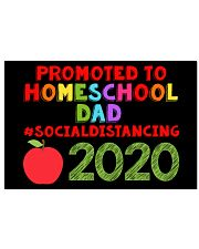 PROMOTED TO HOMESCHOOL DAD 17x11 Poster front