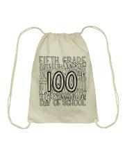 FIFTH GRADE TYPO Drawstring Bag thumbnail