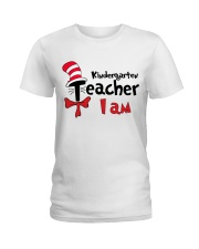 KINDERGARTEN TEACHER I AM Ladies T-Shirt thumbnail