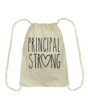 PRINCIPAL STRONG Drawstring Bag thumbnail