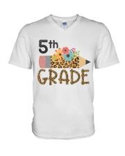 FIFTH GRADE - ART V-Neck T-Shirt thumbnail
