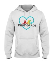 HELLO 1ST GRADE Hooded Sweatshirt thumbnail