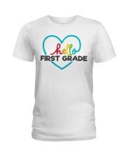 HELLO 1ST GRADE Ladies T-Shirt thumbnail