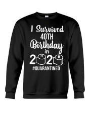40TH SURVIVED Crewneck Sweatshirt thumbnail