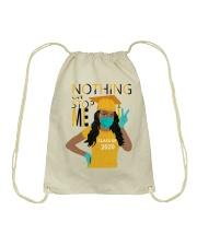 YELLOW - NOTHING CAN STOP ME Drawstring Bag thumbnail