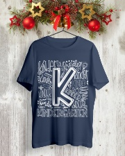 KINDERGARTEN Classic T-Shirt lifestyle-holiday-crewneck-front-2