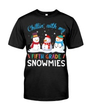 FIFTH GRADE SNOWMIES Classic T-Shirt thumbnail