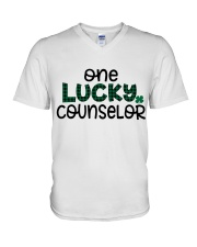 ONE LUCKY COUNSELOR V-Neck T-Shirt thumbnail