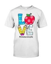 SCHOOL SECRETARY Classic T-Shirt front