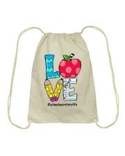SCHOOL SECRETARY Drawstring Bag thumbnail