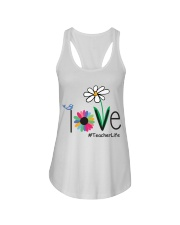 TEACHER LIFE Ladies Flowy Tank tile