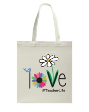 TEACHER LIFE Tote Bag tile