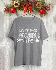 TEACHER Classic T-Shirt lifestyle-holiday-crewneck-front-2