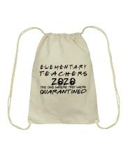 ELEMENTARY TEACHERS Drawstring Bag thumbnail