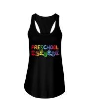 PRESCHOOL TEACHER DESIGN Ladies Flowy Tank thumbnail