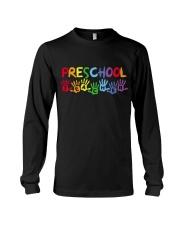 PRESCHOOL TEACHER DESIGN Long Sleeve Tee thumbnail