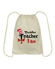TODDLER TEACHER I AM Drawstring Bag thumbnail