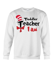 TODDLER TEACHER I AM Crewneck Sweatshirt thumbnail