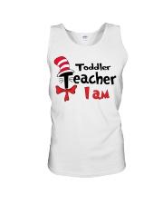 TODDLER TEACHER I AM Unisex Tank thumbnail