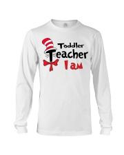 TODDLER TEACHER I AM Long Sleeve Tee thumbnail