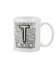 TEACHER TYPOGRAPHY DESIGN Mug thumbnail