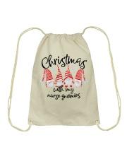 NURSE GNOMIES Drawstring Bag thumbnail